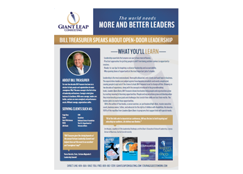 Speaker, Author & CEO Of Giant Leap Consulting